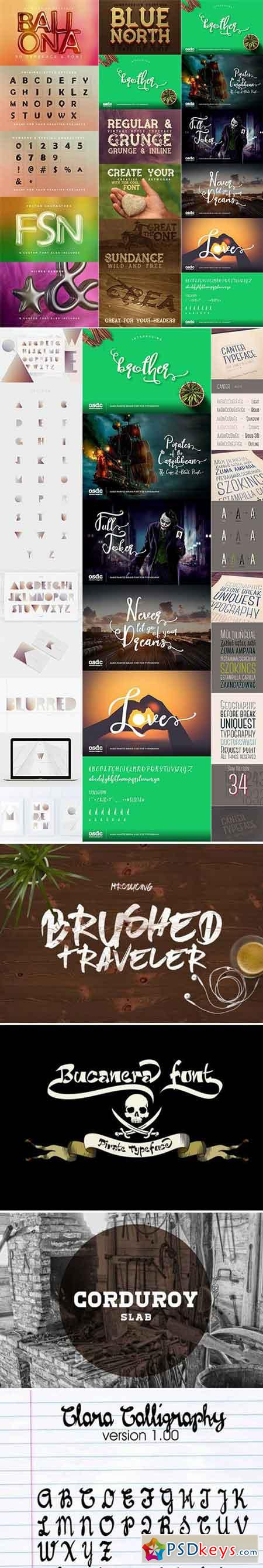 Mix Fonts Bundle 73