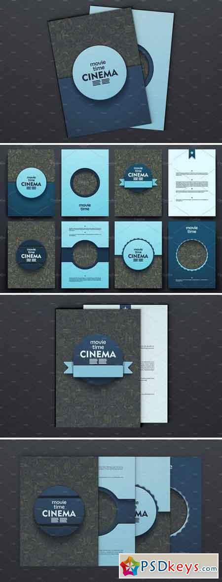 Cinema brochures Doodle backgrounds 382535