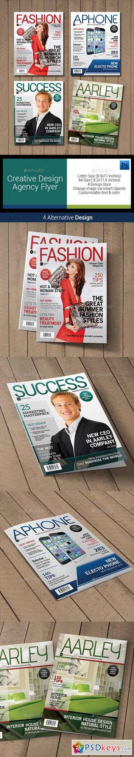 Magazine Cover Template 7586803