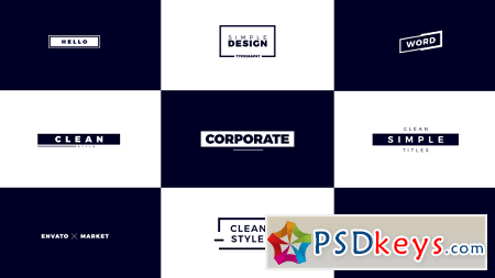 Corporate Titles 21458514 After Effects Template