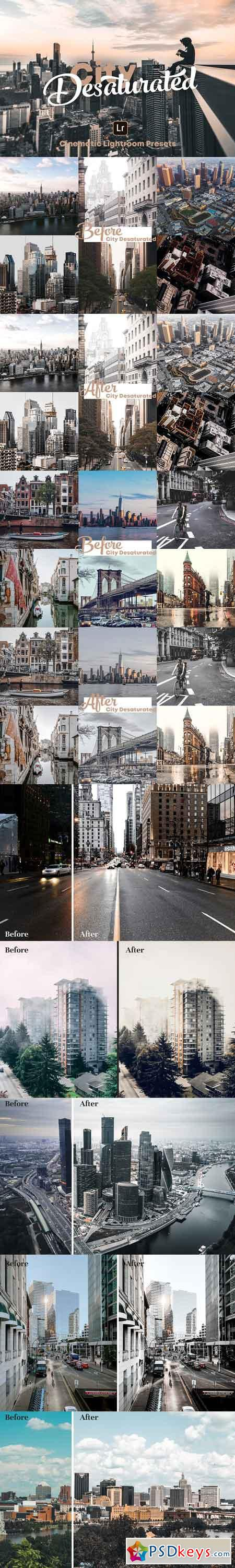 City Desaturated - Lightroom Presets 3064984