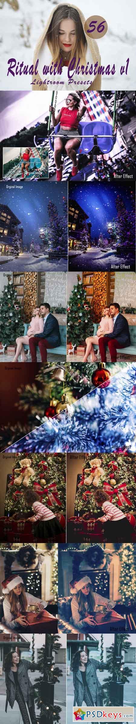 Ritual with Christmas v.1 Lightroom Presets