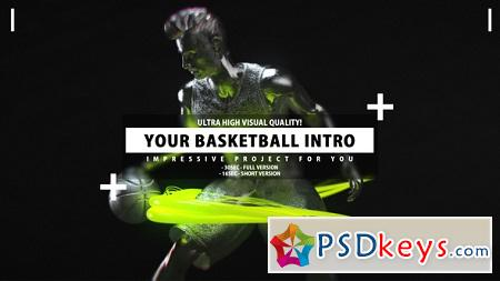 Your Basketball Intro 22557305 After Effects Template
