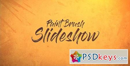 Paint Brush Slideshow 19897221 After Effects Template