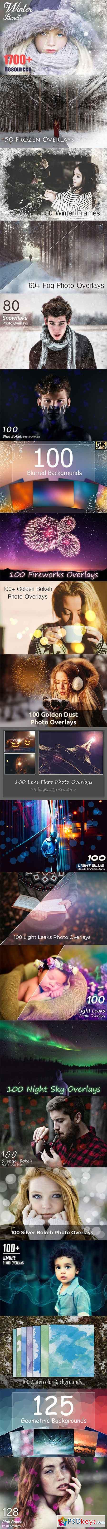 1700+ Christmas Effects Bundle 3062885