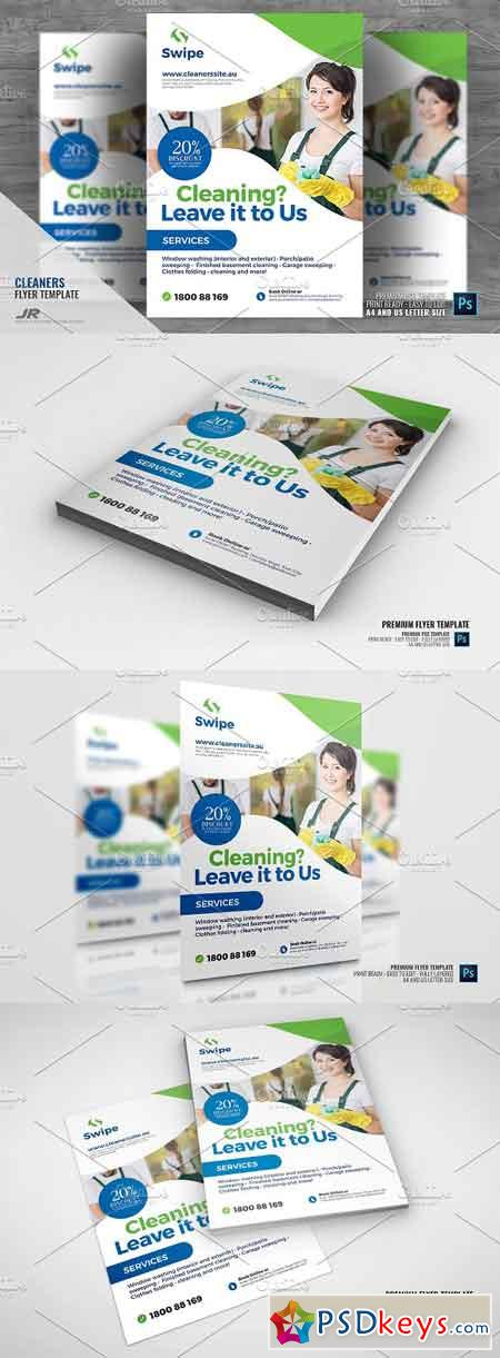 Cleaning Company Services Flyer 2945756