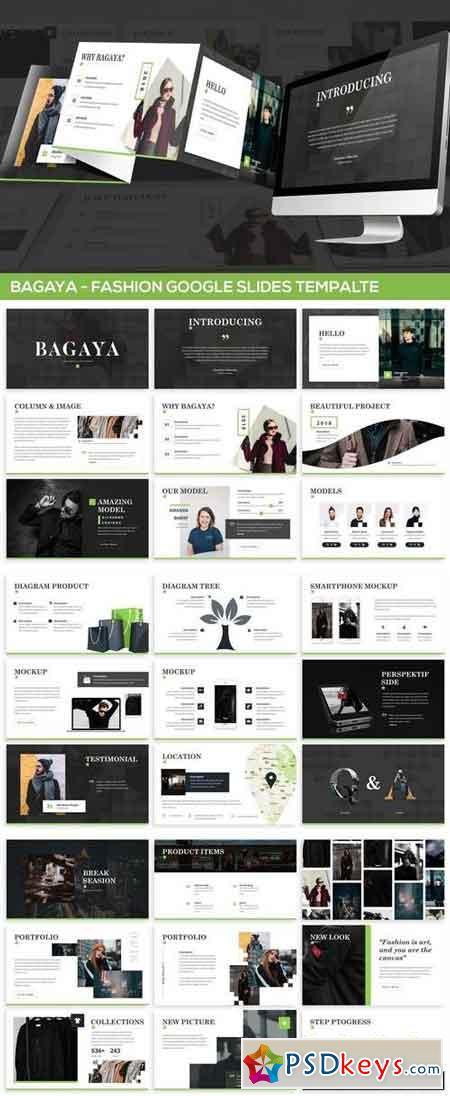 Bagaya - Fashion Google Slides Template