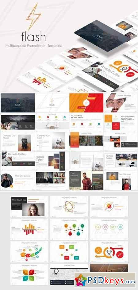 Flash - Powerpoint and Keynote Template