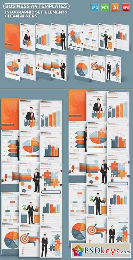 Business Infographics Elements Design
