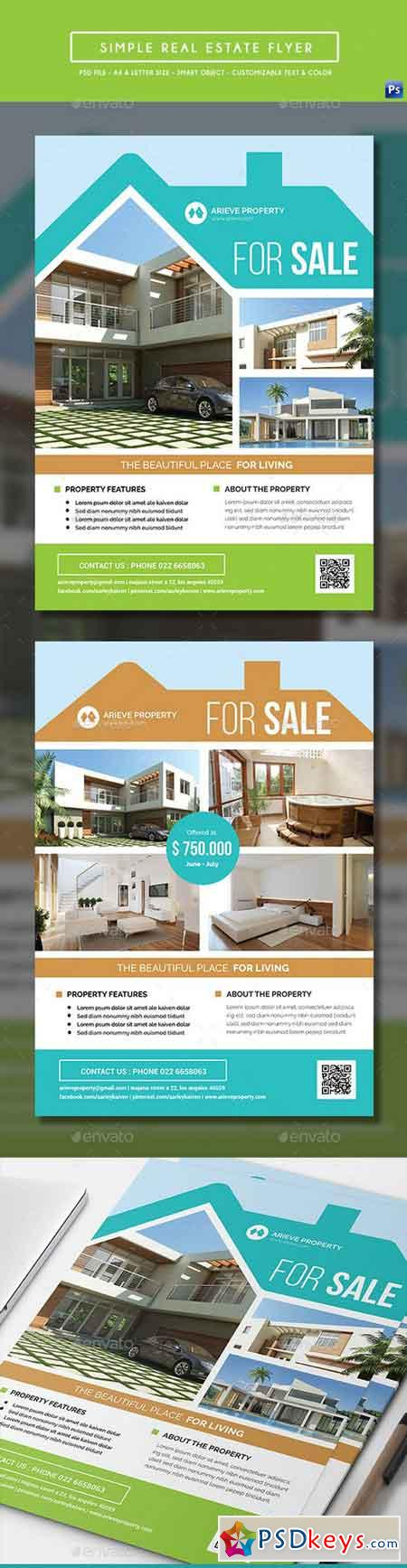 Simple Real Estate Flyer 16875461