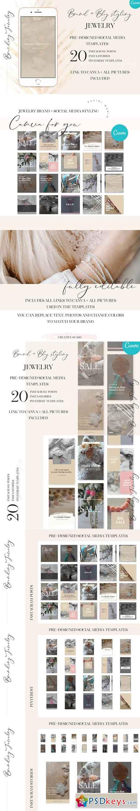 Social media - Brand styling Jewelry 2975364