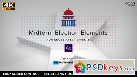 Midterm Election Elements Congress Senate 22771895 After Effects Template