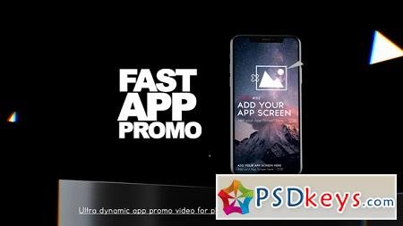 Fast App Promo 22737310 After Effects Template » Free