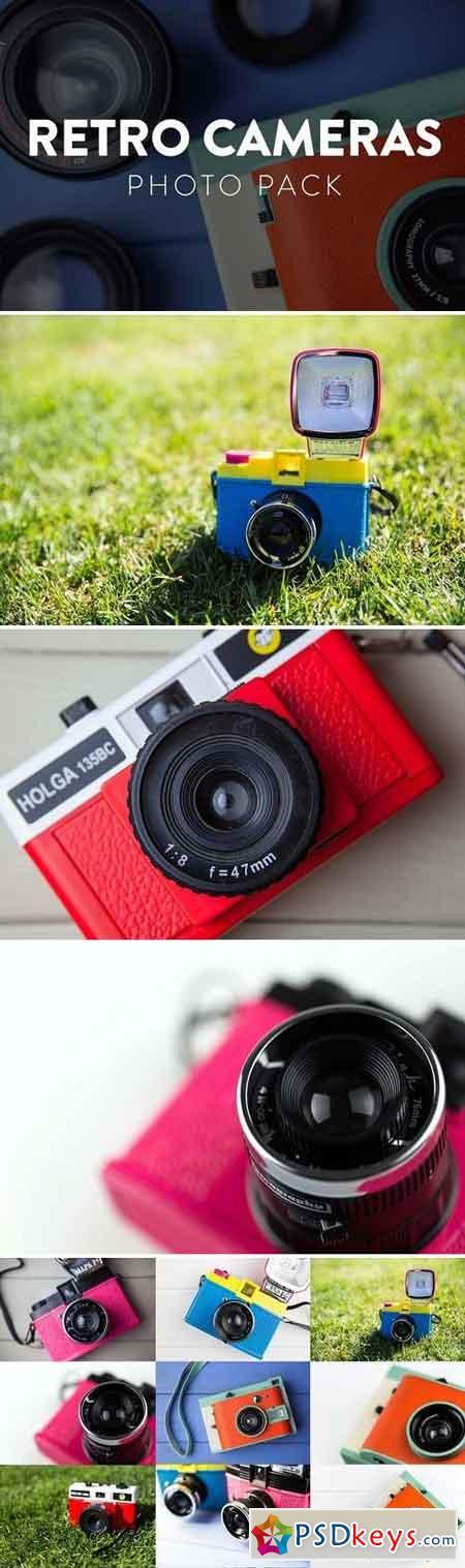 Retro Cameras Photo Pack 563715