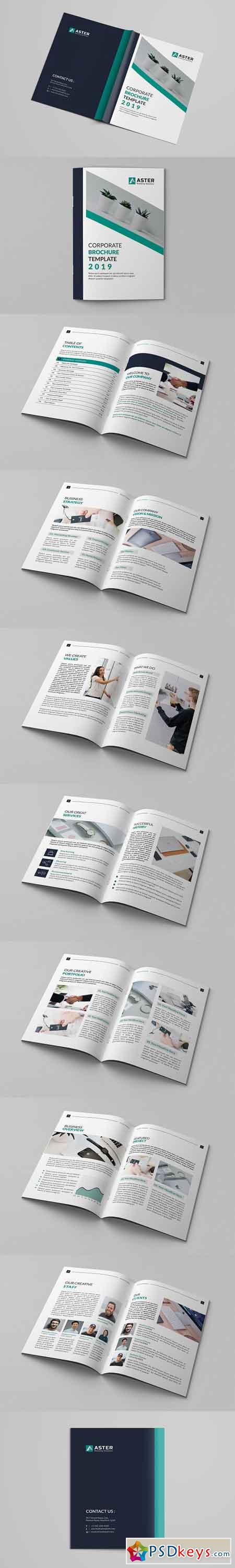 Corporate Brochure Template 2970895