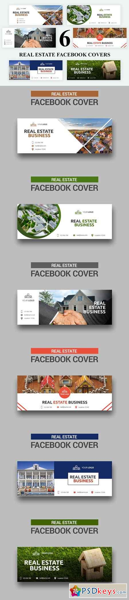 Real Estate Facebook Covers - SK 3032786