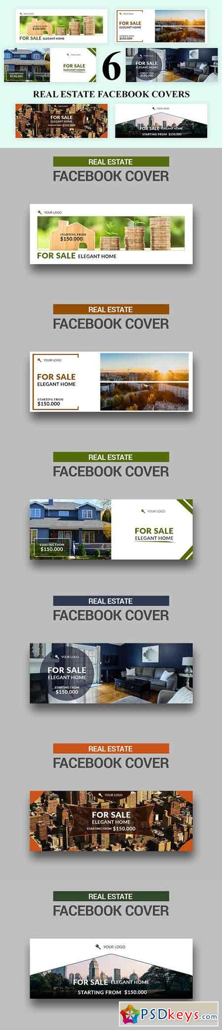 Real Estate Facebook Covers - SK 3032867