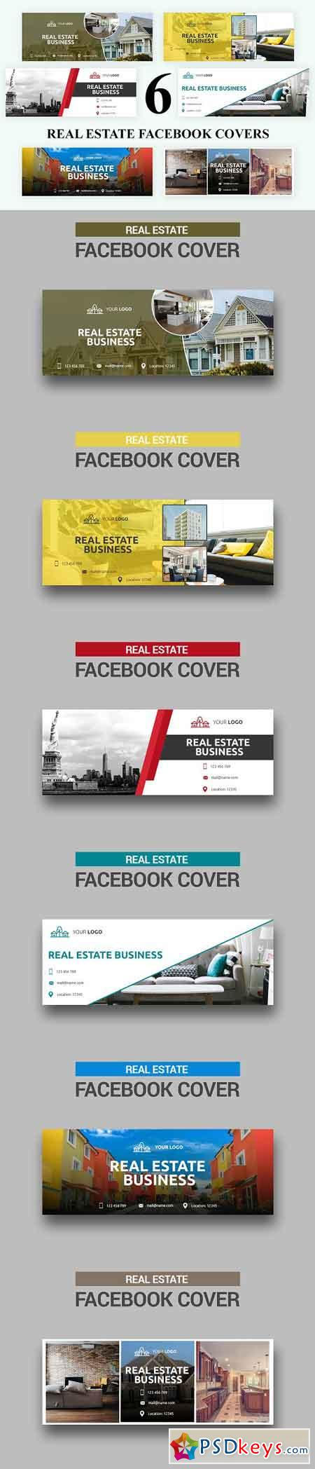 Real Estate Facebook Covers - SK 3032990