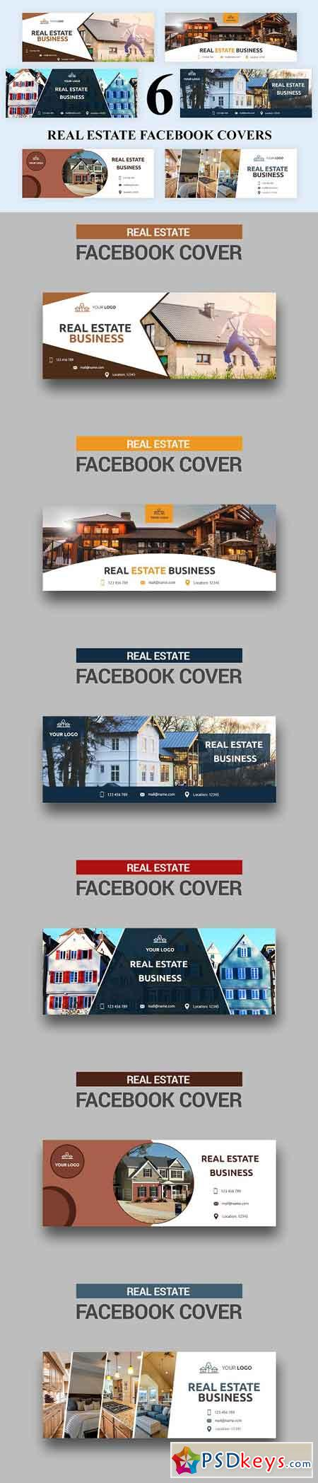 Real Estate Facebook Covers - SK 3033050