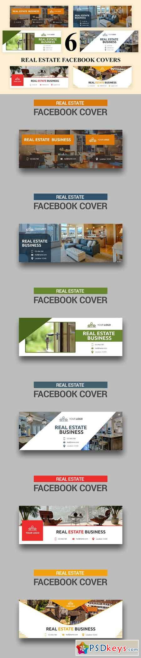 Real Estate Facebook Covers - SK 3035501