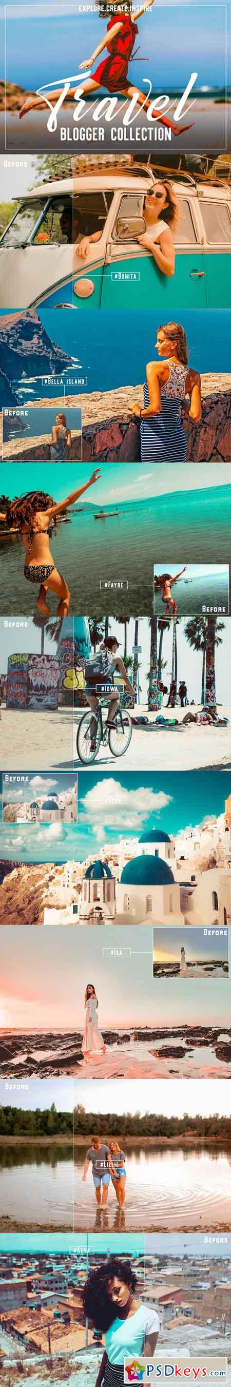 Travel Blogger Lr Acr Presets 3043539