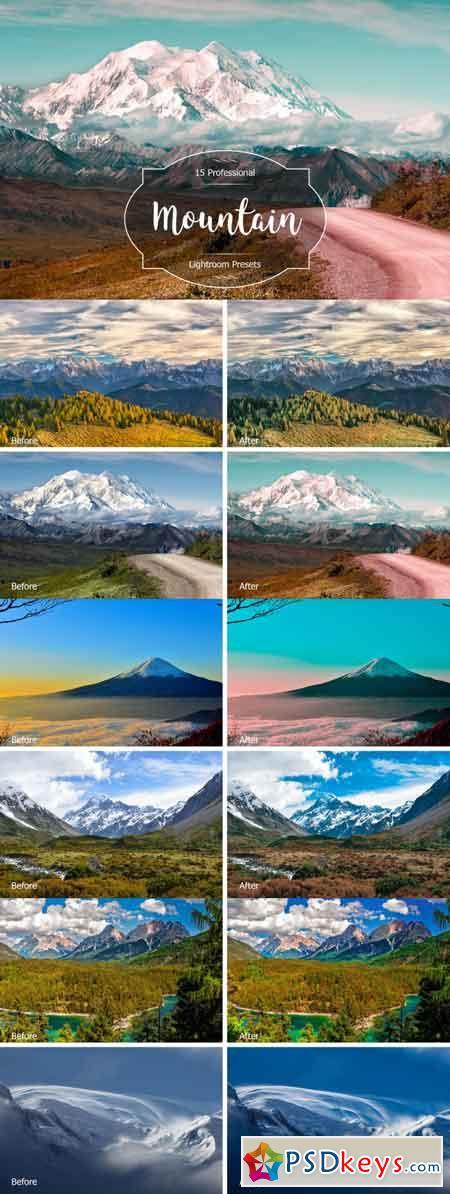 Mountain Lr Presets 3491203