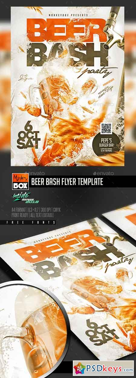 Beer Bash Flyer Template 22669078