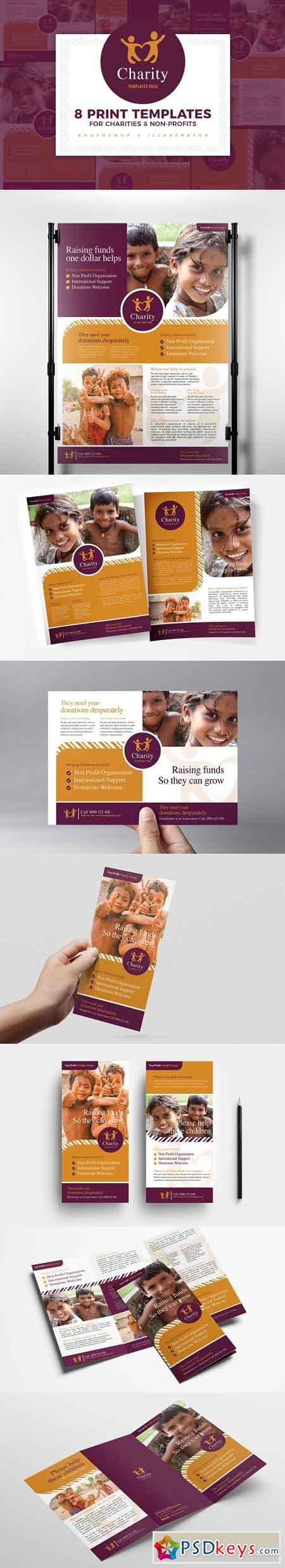 Charity Templates Pack 3014921