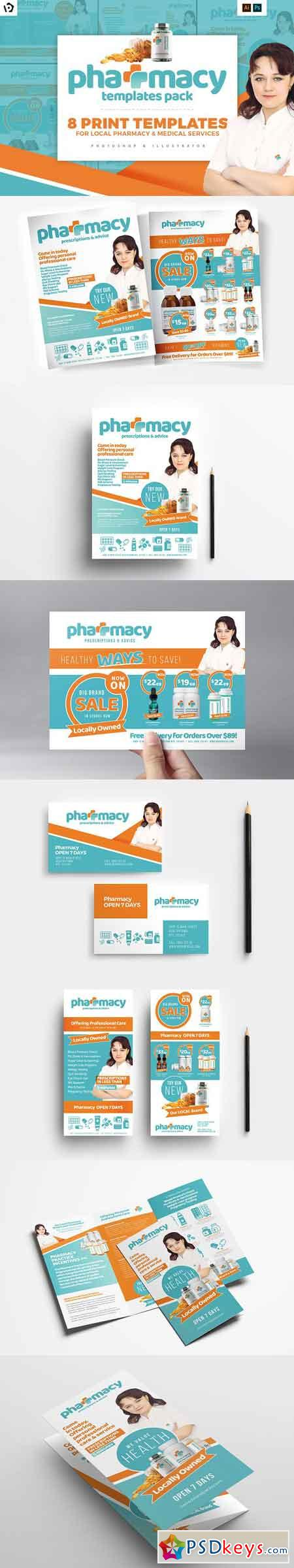 Pharmacy Templates Pack 1883047