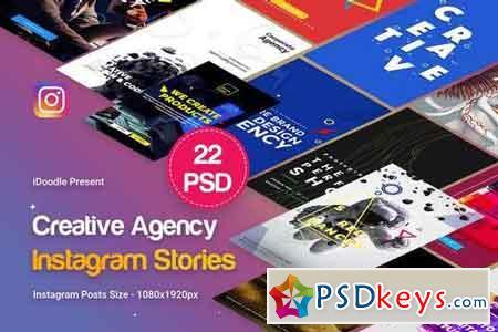 Agency Instagram Stories - 22 PSD