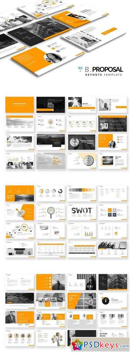 Business Proposal Keynote Templates