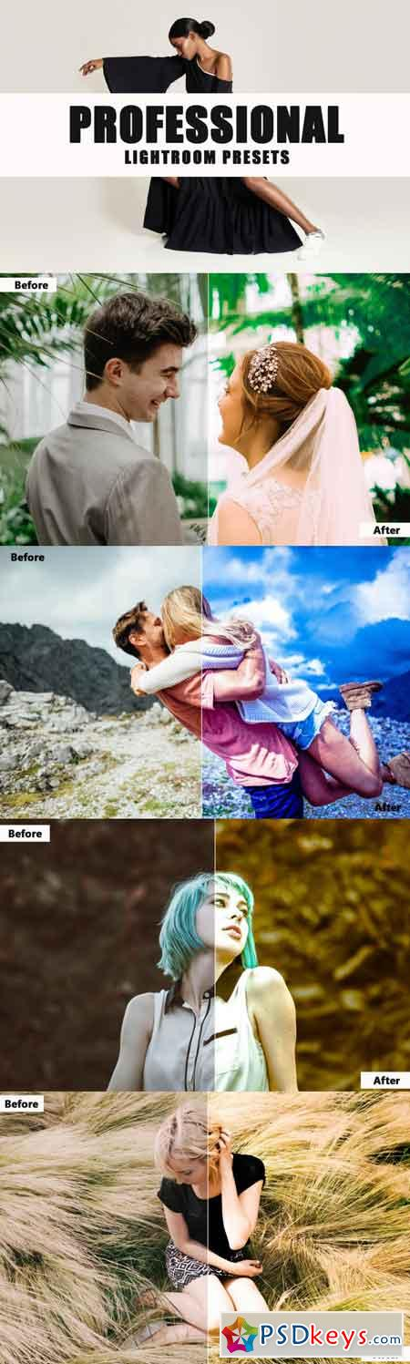 Professional Lightroom Presets 3501788