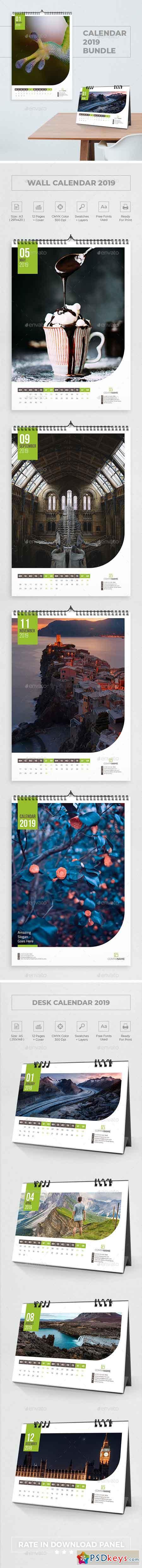 Calendar 2019 Bundle 2 22711447
