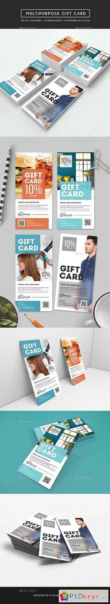 Multipurpose Voucher Gift Card 17211490