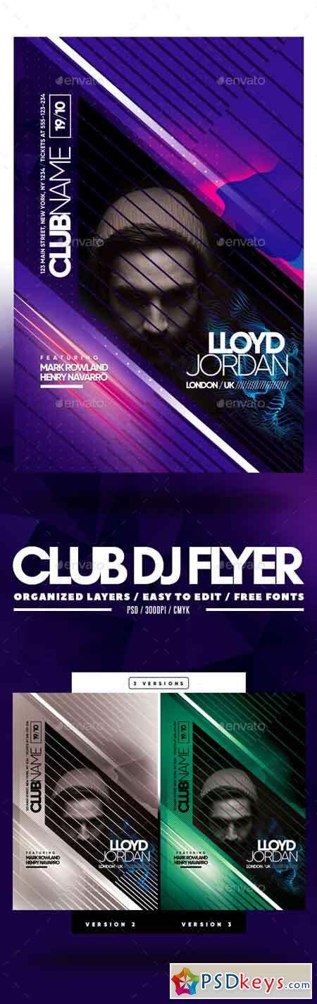 Club DJ Flyer 22689442