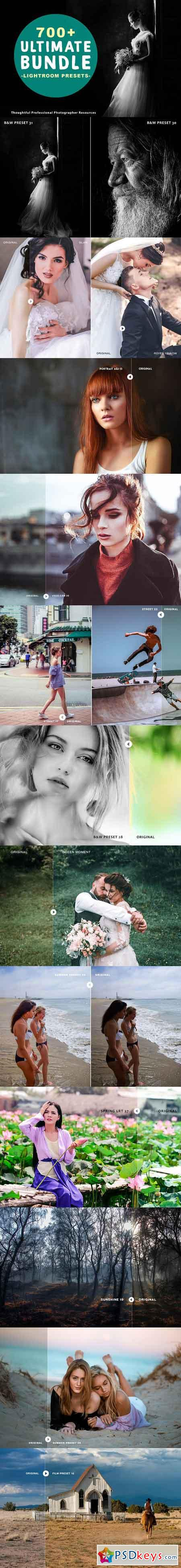 700+ Lightroom Presets Bundle 3061618