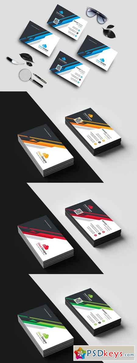Corporate Business Card 3501286