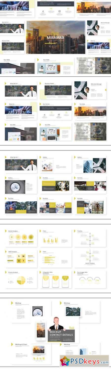 Miramar Powerpoint Template 3499870
