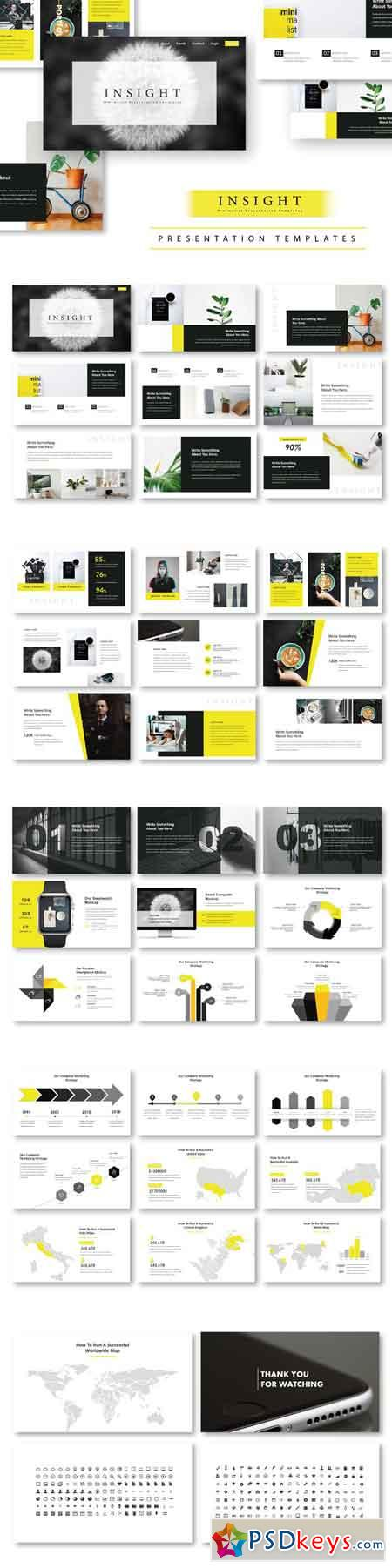 Insight Minimal PowerPoint Template 2901867