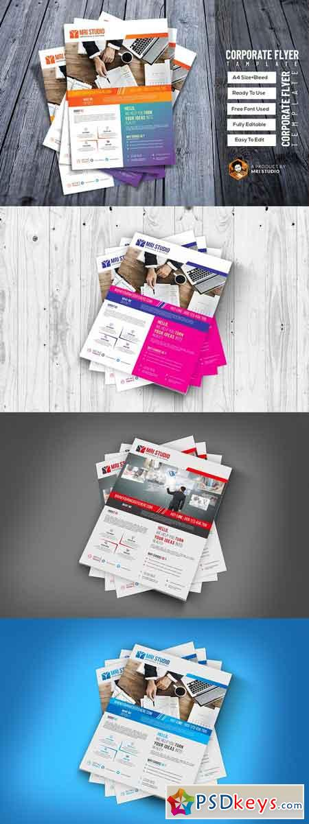 Corporate Flyer Template 2952840