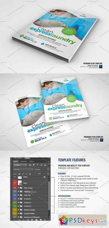 Laundry Services Flyer 2945853