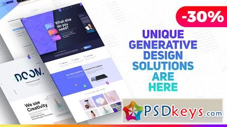 Premium Website Presentation Agency Promo Product Showcase 22358156