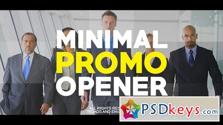 Minimal Promo Opener 21314328 After Effects Template