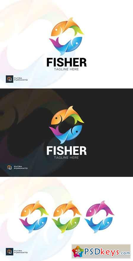 Fisher - Logo Template 3095350