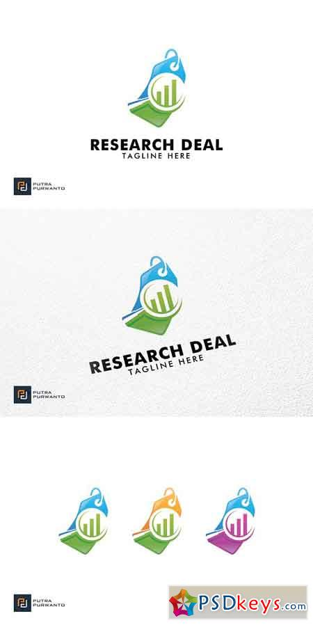 Research Deal - Logo Template 3095319