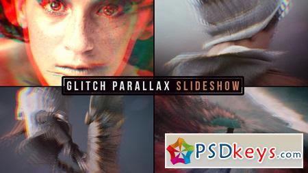 Glitch Parallax Slideshow 19638658 After Effects Template