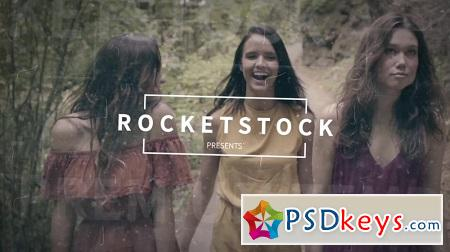 RocketStock Memoir Vintage Title Sequence RS2081 After Effects Template