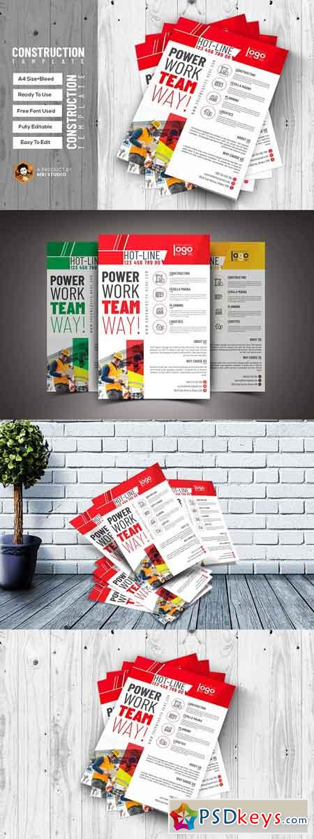 Construction Flyer Template 2946471