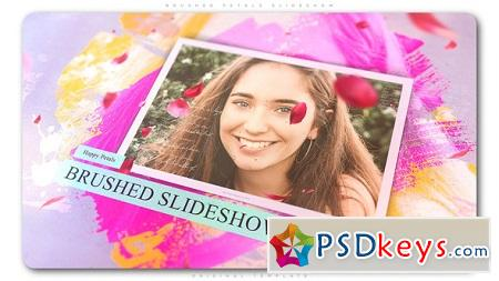 Brushed Petals Slideshow 22549430 After Effects Template