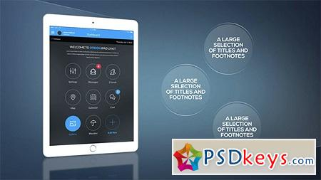 Tablet Presentation Pack 15242770 After Effects Template